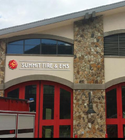 Summit Fire Station 1 in Copper Mountain