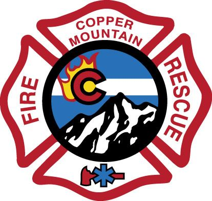 Copper Mountain Fire Rescue Logo