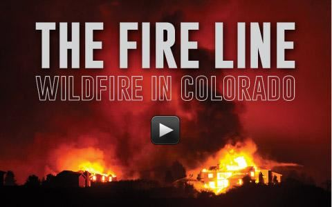 The Fire Line - Wildfire in Colorado screenshot